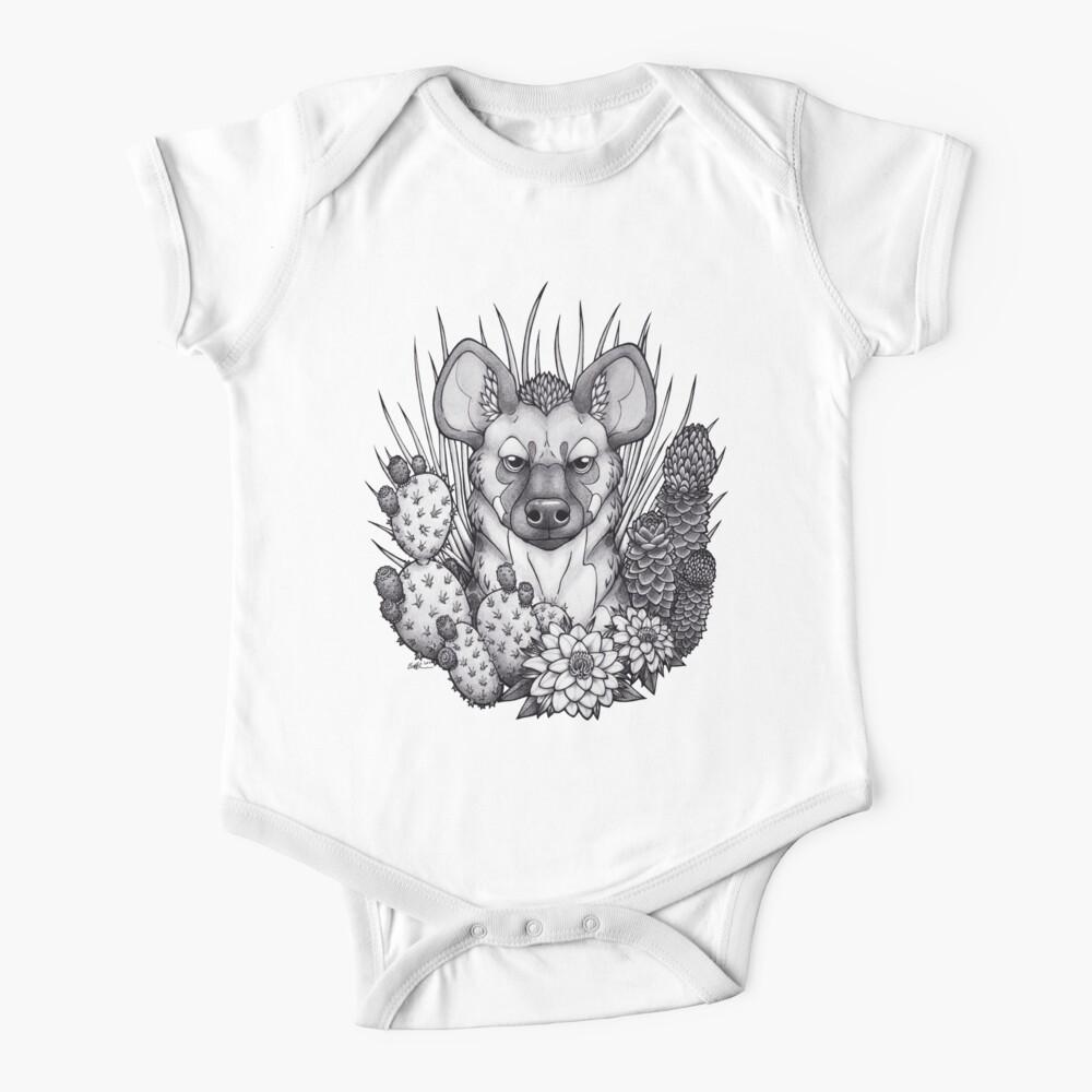 Hyena & Arid Plants Baby One-Piece