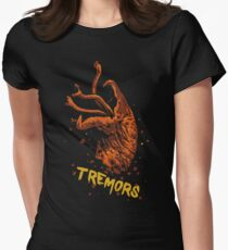 Tremors shirt and product design Womens Fitted T-Shirt