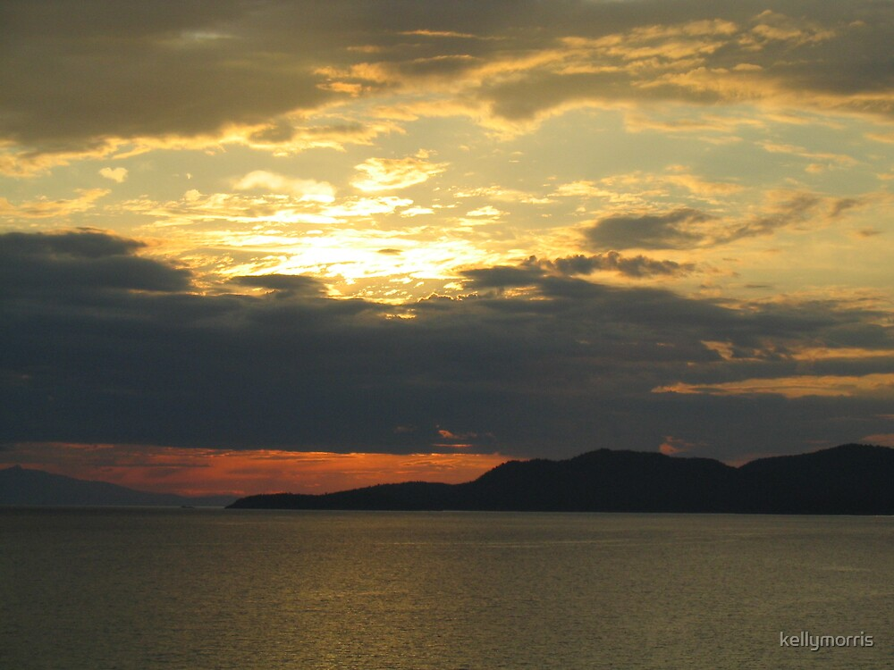 Alaskan Sunset by kellymorris
