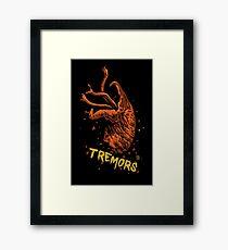Tremors digital art print Framed Print