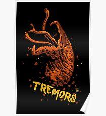 Tremors digital art print Poster