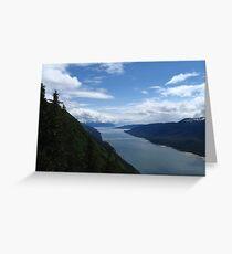 Juneau Inlet Greeting Card