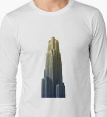 Blue & Gold Cathedral #2 Long Sleeve T-Shirt