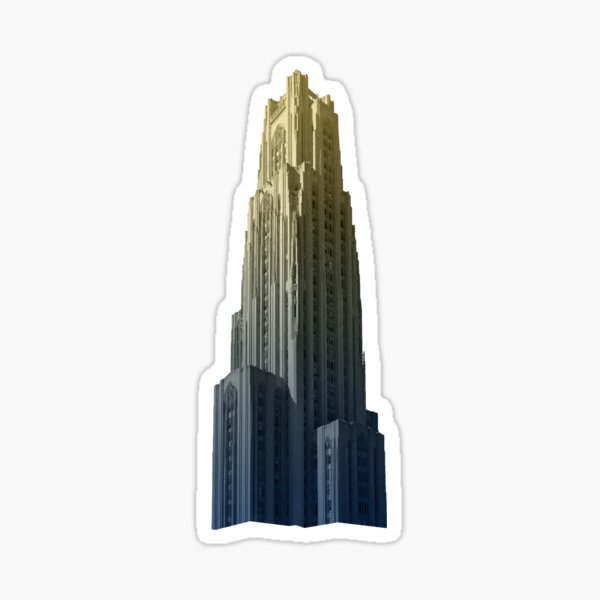 Blue & Gold Cathedral #2 Sticker