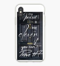 What's the Point in Being Clever...? iPhone Case