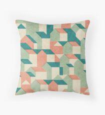Little House Pattern (Set 02) Throw Pillow