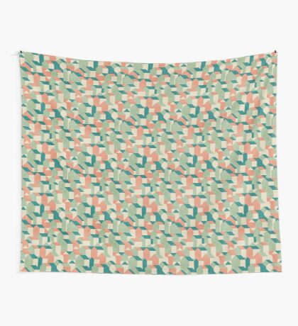 Little House Pattern (Set 02) Wall Tapestry