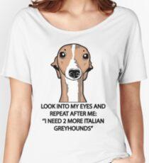 Ich brauche 2 weitere italienische Greyhounds Loose Fit T-Shirt