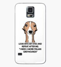 Ich brauche 2 weitere italienische Greyhounds Hülle & Klebefolie für Samsung Galaxy