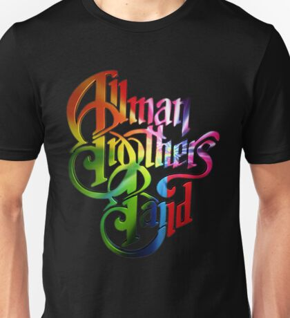 BAND - ALLMAN BROTHERS BAND Unisex T-Shirt