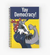 Badger Book! Spiral Notebook