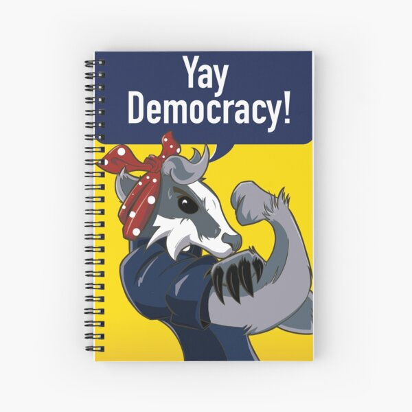 Badger Book! Spiral Notebook
