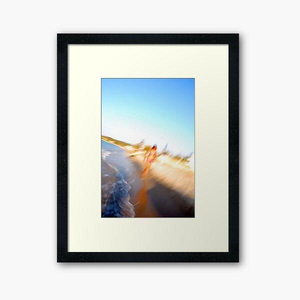 blurrrrr Framed Art Print