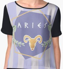 Aries Chiffon Top