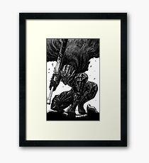 Berserk 3 Framed Print