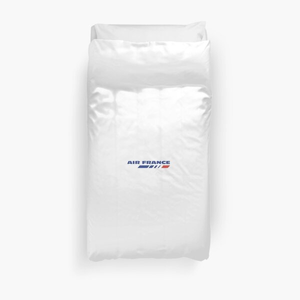 Air France Small Logo at the chest Duvet Cover