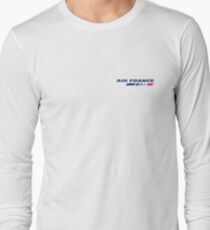 Air France Small Logo at the chest Long Sleeve T-Shirt