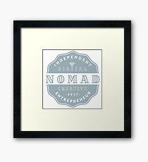 Digital Nomad - Independent Digital Nomad Creative Entrepreneur  Framed Print