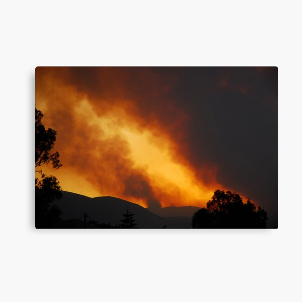 Mountain Fire Canvas Print