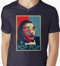 Pop Pop V-Neck T-Shirt