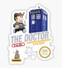 The Doctor 8 bit Cartridge Sticker