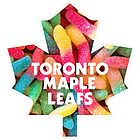 Toronto Maple Leafs with Jelly Worms by James Hetfield