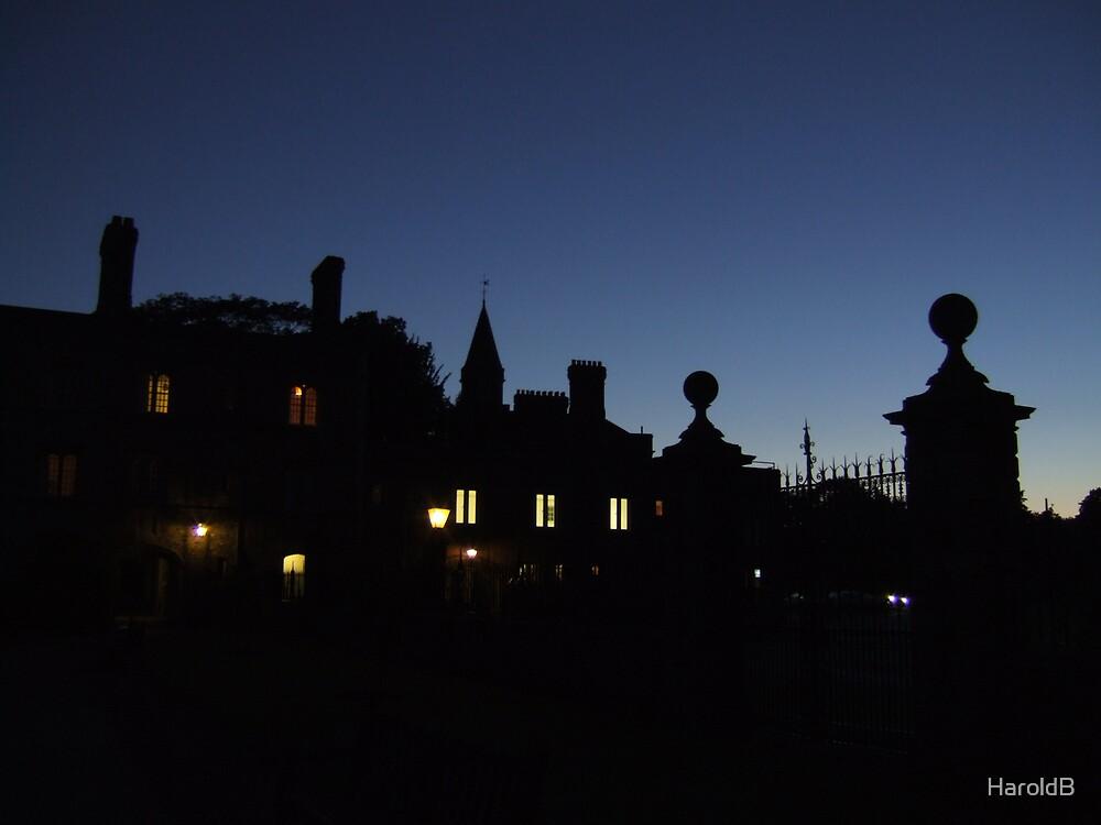 Cambridge at Night by HaroldB