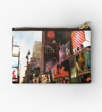 New York Time Studio Pouch