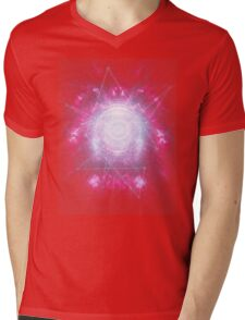 Abstract colossal space Sign! Mens V-Neck T-Shirt