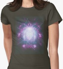 Abstract colossal space Sign! Womens Fitted T-Shirt