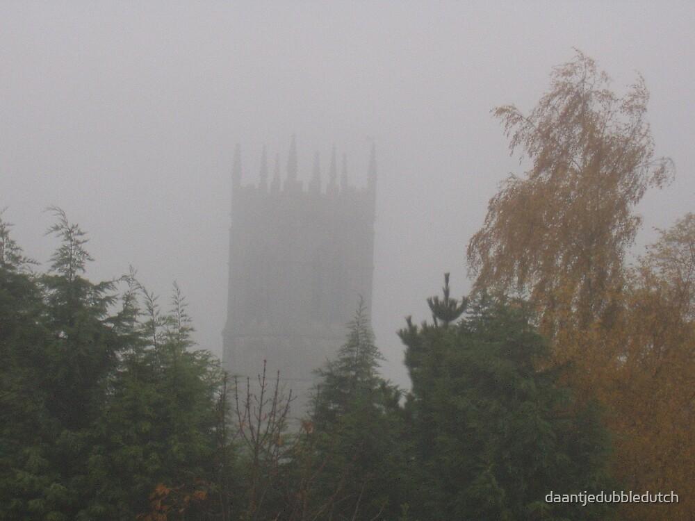 misty church of great ponton by daantjedubbledutch
