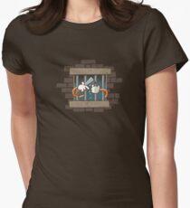 Prison Break Womens Fitted T-Shirt