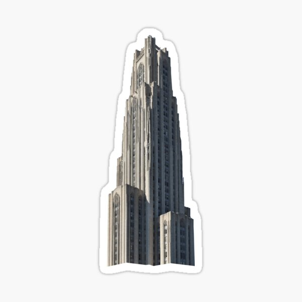 Cathedral of Learning Sticker