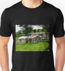 Old stone sheds - Donegal, Ireland T-Shirt
