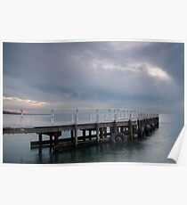 Pt Richards Jetty, Portarlington Poster