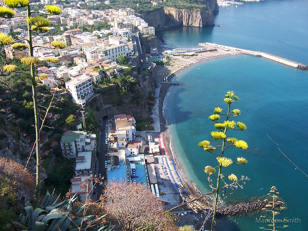 The Amalfi Coast by Maureen Smith