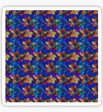 Tropical Paradise, Floral Pattern Sticker