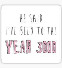 Jahr 3000 Sticker