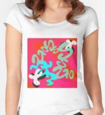 Cut, Paste, Rearrange Women's Fitted Scoop T-Shirt