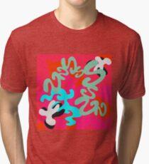 Cut, Paste, Rearrange Tri-blend T-Shirt