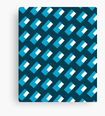 Abstract Rectangle Pattern Geometric Desing  Canvas Print