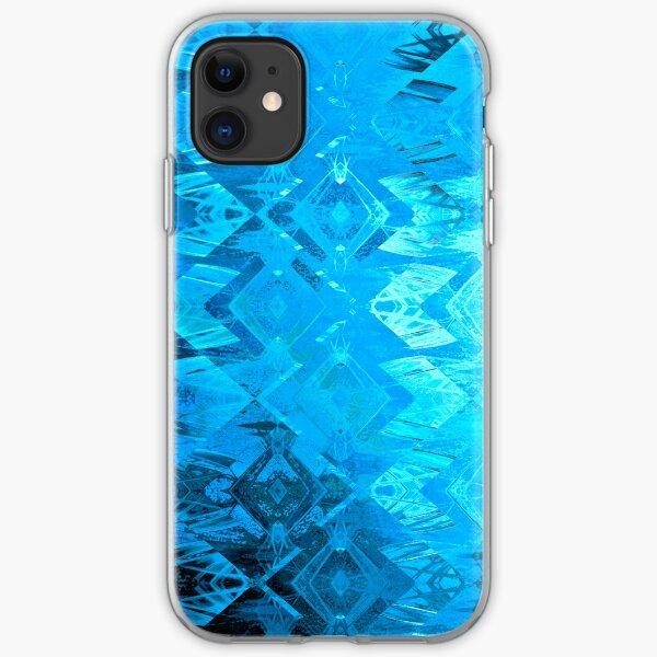 Edged Momentum (blue) iPhone Soft Case
