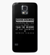 """The Mortal Instruments: """"Shadowhunters"""" Case/Skin for Samsung Galaxy"""