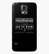 """Funda/vinilo para Samsung Galaxy Los instrumentos mortales: """"Cazadores de sombras"""""""