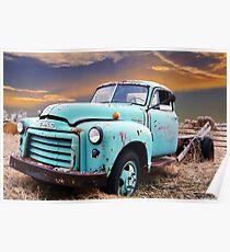 GMC Truck Poster