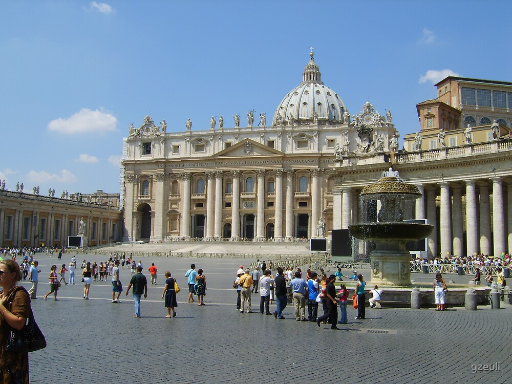 St Peter's Square by gzeuli