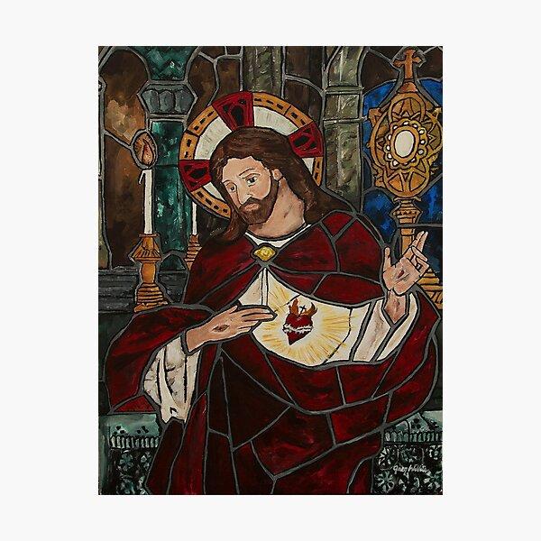 Sacred Heart of Jesus Photographic Print