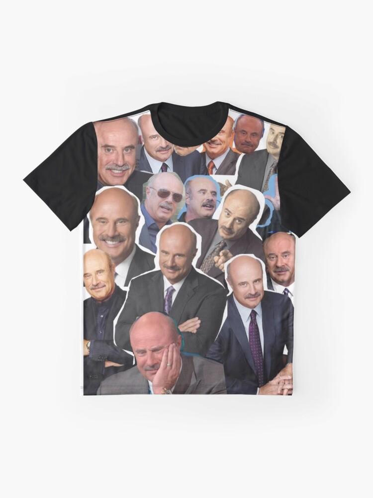 Vista alternativa de Camiseta gráfica Dr Phil