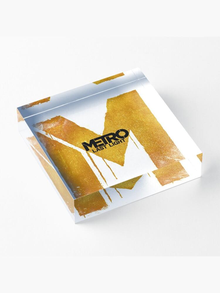 Alternate view of Metro LL Logo Acrylic Block