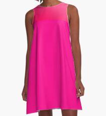 schön in pink A-Linien Kleid